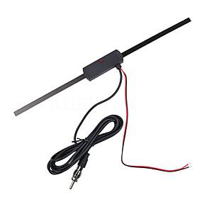 billige Dekorasjon til biltak-bilelektronisk antenne forsterke fm-signaler frontrute fm / am radioantenne
