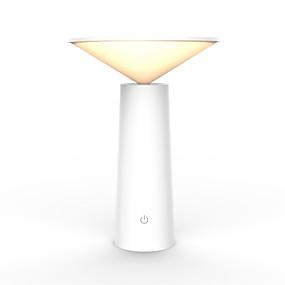 billige LED Smart nattlys-1 stk smarte 3 moduser bordlys ristende hode bord skrivebordslampe førte nattlys berøringsminne dimming