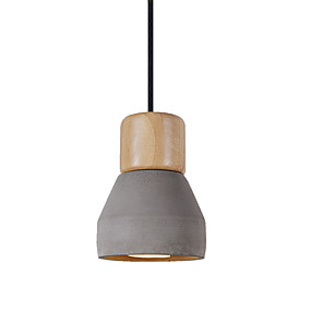 povoljno Viseća rasvjeta-JSGYlights Mini Privjesak Svjetla Downlight Drvo Ceramic New Design 110-120V / 220-240V