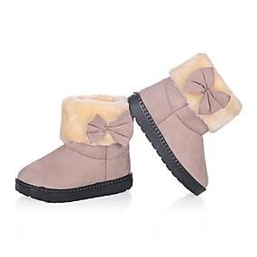 ราคาถูก พรีเซลล์-เด็กผู้หญิง รองเท้าบู้ทใส่สำหรับหิมะ Synthetics บูท เด็กน้อย (4-7ys) สีดำ / สีบานเย็น / แดง ฤดูหนาว / บู้ทสูงระดับกลาง