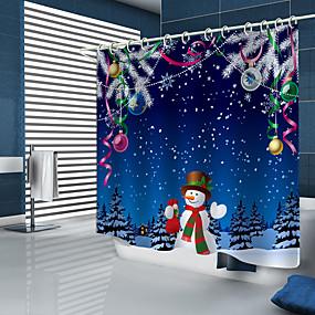 preiswerte Accessoires für das Bad-Duschvorhänge & Ringe Modern Polyester Neues Design