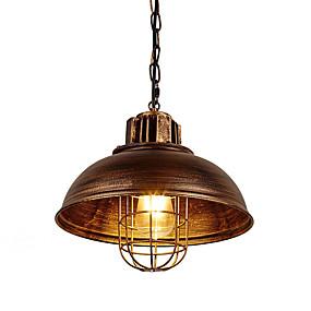povoljno Viseća rasvjeta-berba s industrijskim metalnim metalnim kavezom potkrovlje svjetiljke dnevni boravak blagovaonica hodnik kafe barovi kuhinja privjesak za osvjetljenje