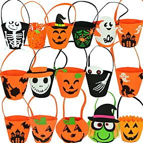 5pcs Pumpkin Eye Glasses Eyewear Halloween Party Costume Fancy Dress Orange