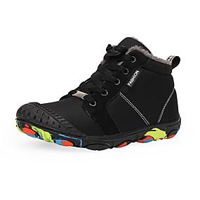 preiswerte Schuhe für Kinder-Jungen Komfort Polyester Stiefel Kleine Kinder (4-7 Jahre) / Große Kinder (ab 7 Jahren) Walking Schwarz / Grün Winter / Gummi