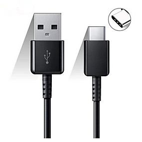 cheap Cables & Chargers-Original Samsung 120/150CM USB Type C Cable Fast Charge Data Line for Galaxy S8 S9 Plus S10 Plus A5 A7 2017 Note 8 XIAOMI A3 5 6