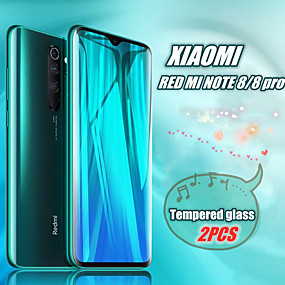 cheap Screen Protectors-2pcs Tempered Glass For Xiaomi Redmi Note 7 8 Pro Screen Protector Protective glass on Redmi note7 8 glass