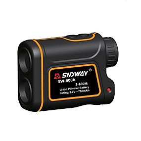 cheap New Arrivals-SNDWAY SW-600A/1000A/1500A Telescope Laser Rangefinder 600m/1000m/1500m with Speed Difference Measuring Function With Height Difference Measuring Function Waterproof Dustproof Optical 7 Times