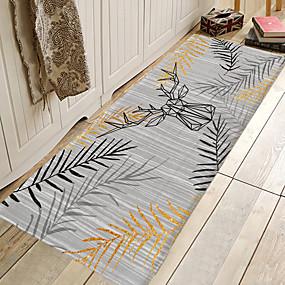 voordelige Matten & Tapijten-1pc moderne badmatten / badtapijten koraal velve geometrisch / abstract 5mm badkamer nieuw ontwerp