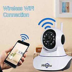 povoljno IP kamere-hiseeu® 1080p ip kamera bežična kućna sigurnost nadzorna kamera wifi noćni vid cctv kamera baby monitor dvosmjerni audio ugrađeni mikrofon zvučnici otkrivanje pokreta i alarmni alarm
