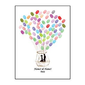 povoljno Darovi i pokloni za zabave-Personalizirani okviri i ploče Vodootporno ulje platna Vrt Tema / Vjenčanje / Vintage Tema S Uzorak