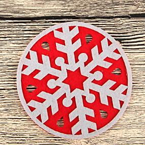 preiswerte Weihnachten-Trinkgefäße Untersetzer Weicher Kunststoff Mini Lässig / Alltäglich