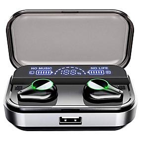 voordelige Gaming-LITBest T10 TWS True draadloze hoofdtelefoon Draadloos Gaming Bluetooth 5.0 Ruisonderdrukking
