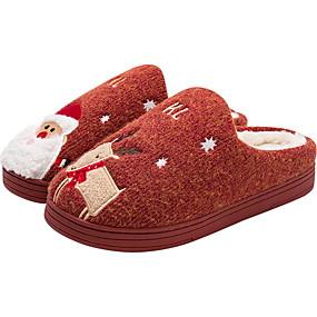 preiswerte Textilien für Zuhause-Damenhausschuhe / Herrenhausschuhe Pantoffel Freizeit Gestrickt Schuhe