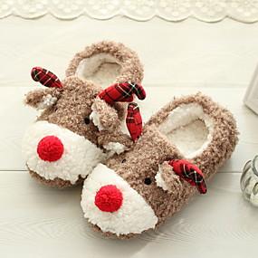 preiswerte Textilien für Zuhause-Damenhausschuhe Pantoffel Freizeit Baumwolle Schuhe