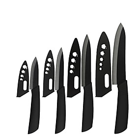 povoljno Pribor za voće i povrće-cirkonija crna oštrica 3 4 5 6 keramički noževi kuhinjski noževi kuhar nož povrća alat za kuhanje