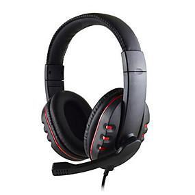levne Hraní her-3,5mm kabelová herní sluchátka s hlubokými basy, sluchátka pro profesionální hráče, hráčská sluchátka s hd mikrofonem pro počítač