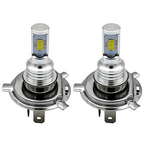 cheap Car Signal Lights-2pcs H7 H8 H11 9005 9006 HB4 H1 H3 3570 Chip Canbus External Led Bulb Car Led Fog Driving Lights Lamp Light Source 12-24V