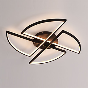 povoljno Lámpatestek-Geometrijski Flush Svjetla Ambient Light Slikano završi Aluminij silika gel New Design 110-120V / 220-240V Meleg fehér / Bijela