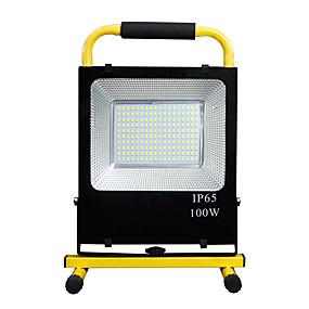 preiswerte Scheinwerfer-1pc 100 W / 150 W LED Flutlichter / Taschenlampe Wasserfest / Neues Design Weiß 85-265 V Außenbeleuchtung 180-220 LED-Perlen
