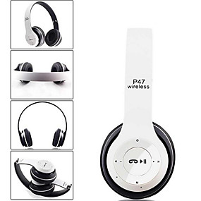 levne Hraní her-bezdrátová sluchátka Bluetooth sluchátka s potlačením šumu sluchátka skládací stereofonní basy s nastavitelným zvukem s mikrofonem pro PC telefon