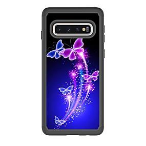 povoljno Oprema za mobitele-Θήκη Za Samsung Galaxy S9 / S9 Plus / S8 Plus Otporno na trešnju / Uzorak Stražnja maska Rukav leptir PU koža