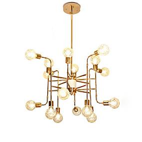 povoljno Lámpatestek-16 svjetla luksuzni luster u obliku lustera sa svijećama europska moderna svjetla za dnevni boravak trpezarija trgovine caffe led g9 žarulje nisu uključene