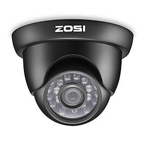 povoljno CCTV kamere-zosi 1080p tvi unutarnji& vanjska noćna kamera s otvorenom kupolom