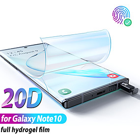 cheap Screen Protectors-Hydrogel Film for Samsung Galaxy Note 10 Plus Screen Protector Note10 Plus for Samsung Note10 Plus note10 Not Glass Protection