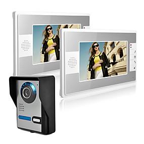 povoljno Sustavi kontrole pristupa-ožičeni 7 inčni hands-free 800 * 480 piksela jedan na jedan video domofon