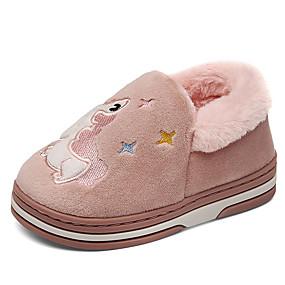preiswerte Schuhe für Kinder-Jungen / Mädchen Komfort / Lauflern Kunstpelz Loafers & Slip-Ons Kleinkind (9m-4ys) / Kleine Kinder (4-7 Jahre) Walking Fuchsia / Blau / Rosa Winter / TPR (Thermoplastisches Gummi)