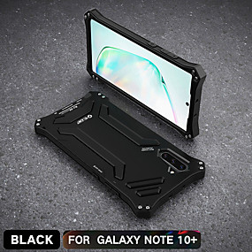 povoljno Maske za mobitele-Θήκη Za Samsung Galaxy Note 9 / Note 8 / Samsung Note 10 Otporno na trešnju / Protiv prašine / Vodootpornost Stražnja maska Oklop silika gel / Aluminij