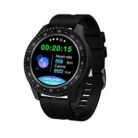 olcso Újdonságok-f17 smartwatch bt fitness tracker támogatás értesítés / vérnyomásmérés sportos intelligens óra samsung / iphone / android telefonokhoz