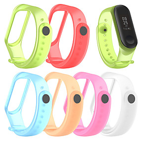 cheap Smartwatch Bands-For XIAOMI MI Band 4 / MI Band 3 Silicon Wrist Strap WristBand Bracelet