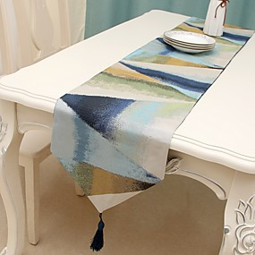 cheap Table Linens-Classic polyester fibre Cube Table Runner Table Decorations