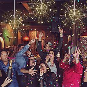 povoljno Unikatna rasvjeta-1set festival visi zvijezde žice svjetla 150 led diy vatromet bakar bajke vijenac božićna svjetla vanjsko svjetlucavo svjetlo