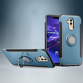 povoljno Maske za mobitele-Θήκη Za Huawei Huawei nova 4e / Huawei P30 / Huawei P30 Pro Otporno na trešnju / Prsten držač Stražnja maska Țiglă / Oklop PC