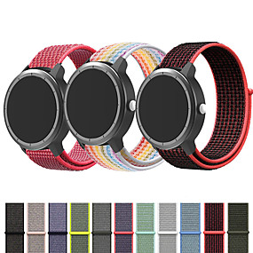 cheap Smartwatch Bands-Nylon Watch Band Wrist Strap For Garmin Vivoactive 4 / Venu / Vivoactive 3 / Forerunner 645 / 245M / 245 / Vivomove HR Replaceable Bracelet Wristband