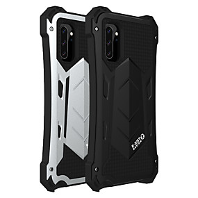 cheap Samsung Case-Case For Samsung Galaxy Galaxy S10 / Galaxy S10 Plus / Galaxy S10 5G Shockproof / Dustproof / Water Resistant Back Cover Armor Silica Gel / Aluminium