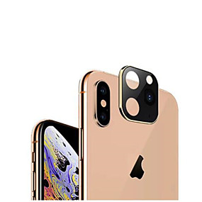 cheap Phones & Accessories-For iPhone X XS Max turn to iPhone 11 Pro Max Case Camera Lens Change to iPhone 11 Pro Max Cover Case Tempered Glass Protector
