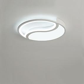 preiswerte Beleuchtung-runde halbhohle deckenleuchte tai chi deckenleuchte restaurant deckenleuchte