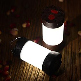 preiswerte Scheinwerfer-1pc 8 W Taschenlampe Neues Design / Dekorativ Weiß / Rot Batterien angetrieben Außenbeleuchtung / Hof / Garten 36 LED-Perlen
