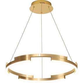 povoljno Viseća rasvjeta-QIHengZhaoMing Privjesak Svjetla Ambient Light Brushed Aluminij 110-120V / 220-240V
