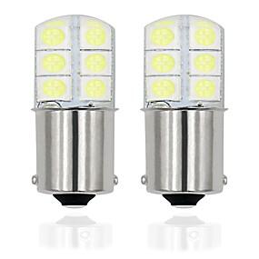 2X T20 7440 13SMD 5050 LED Car Tail Brake Turn Signal Light Lamps Bulb White BH