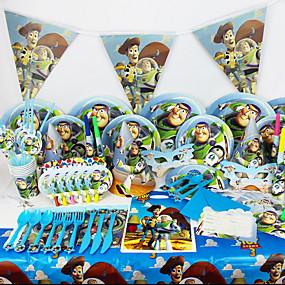 levne Příbory-stolní nádobí 1 sada Šetrný vůči životnímu prostředí Plastický Dezertní lžíce