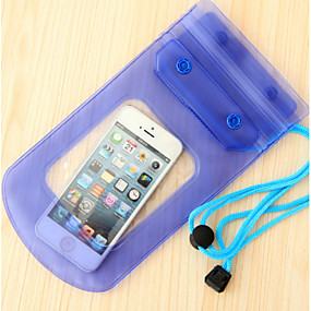 cheap Travel Security-Cell Phone / Waterproof Case / Pouch / Bag Plastic Portable / Camping & Hiking Solid Colored