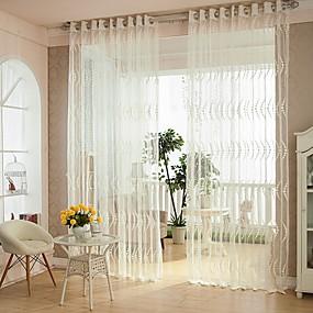 preiswerte Renovierung-Klassisch Durchsichtig Ein Panel Schlafzimmer   Curtains