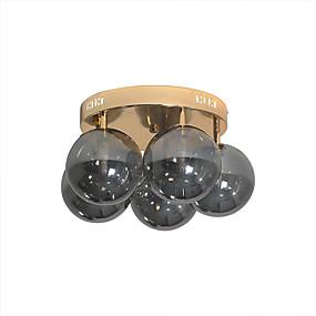 cheap Ceiling Lights & Fans-HEDUO 4-Light 50 cm Flush Mount Lights Glass Glass Traditional / Classic / Nordic Style 110-120V / 220-240V / VDE