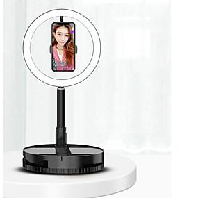 preiswerte Beleuchtung, Studio und Zubehör-led selfie ringlicht kamera studio fotografie beleuchtung video für youtube live streaming füllen ringlicht lampe