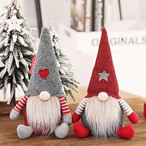 preiswerte Weihnachtsdeko-weihnachtsmann weihnachtsschmuck gesichtslose puppe gnome plüsch home party dekoration neujahrsgeschenk