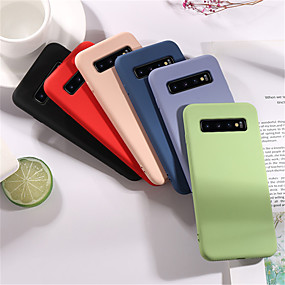 cheap Samsung Case-Soft Liquid Silicone Case For Samsung Galaxy S10 S10E S10 Plus S9 S9 Plus S8 S8 Plus